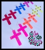 Image of ✖Cross ColorFul Spike✖ EarRings