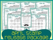 Image of April 2013 Stamp Release Package