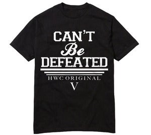 Image of Can't Be Defeated - Black
