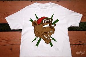 Image of Bear Fink Tee - White
