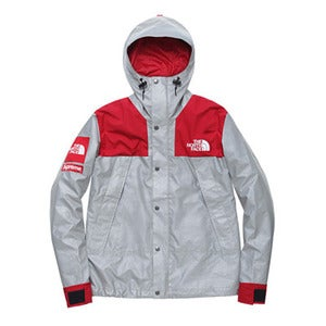 Image of Supreme x The North Face 3M Mountain Parka Jacket (RED)