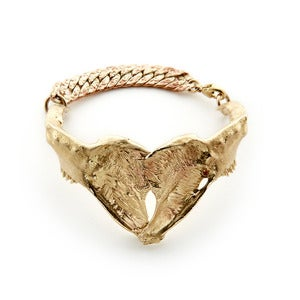 Image of Jaw Bone Bracelet Bronze