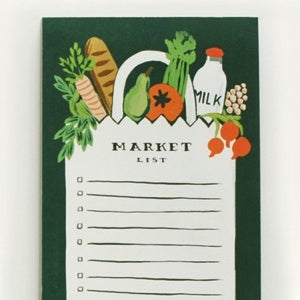 Image of Bloc de Notas - Market list Bag