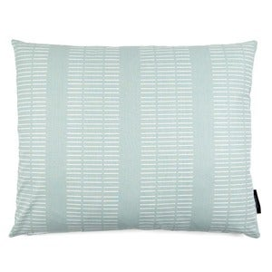 Image of Big square cushion, Dash aqua