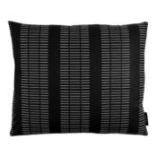 Image of Big square cushion, Dash black