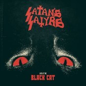 Image of Satan's Satyrs - Live At The Black Cat 7""