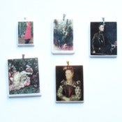 Image of Sale Lot 328: 6 x Fairytale in Wonderland Pendants