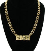 Image of Rich  ( earrings & necklace)