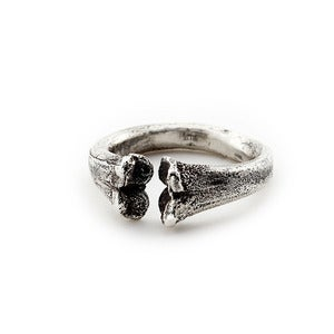 Image of Bone Ring Silver