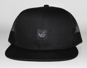 Image of Easy Script Mesh Back in Black