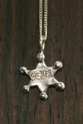 Image of Sheriff Necklace 3D