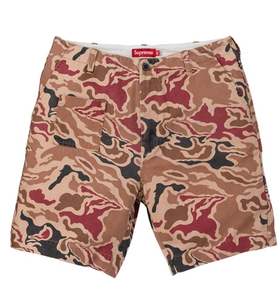 Image of Supreme Camo Utility Shorts