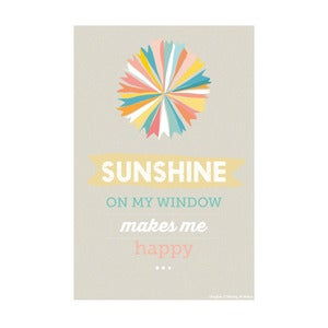 Image of Sunshine on my window, Art Print