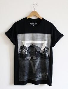 Image of ABANDONED HOUSE T-Shirt (black)