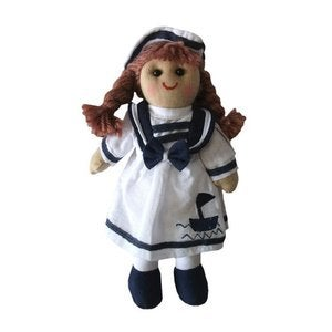 Image of Mini Sailor Girl Rag Doll by Powell Craft