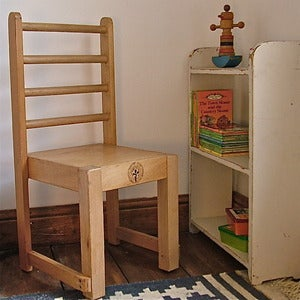 Image of Vintage 1970's Kindergarten Chair from Budapest