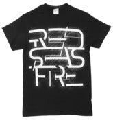 "Image of Black + White ""Futuristic Logo"" T-Shirt"