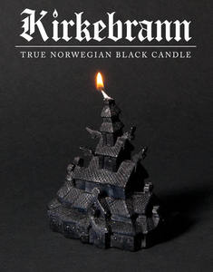 Image of Kirkebrann - True Norwegian Black Candle