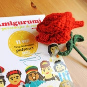 Image of Amigurumi. 11 VIP: Very Important Patrones + Patrón rosa de ganchillo de REGALO