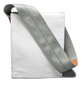 Image of Shoulder Pack Messenger Bag / White