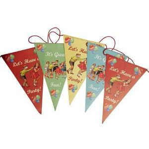 Image of Vintage Party Bunting