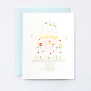 Image of Celebration Cake - Single Card