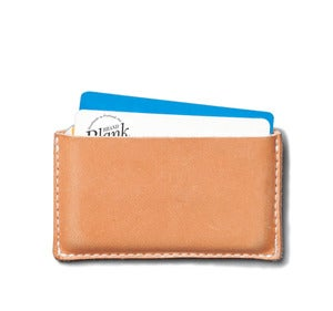 Image of Simple Wallet / Leather