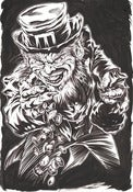 "Image of ""LEPRECHAUN"" original inked drawing"