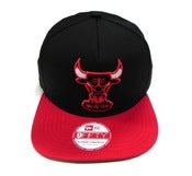 "Image of CHICAGO BULLS ""SUPER VELCRO"" NEW ERA STRAPBACK"