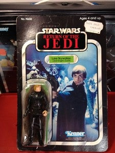 Image of Luke Skywalker Jedi Knight On card