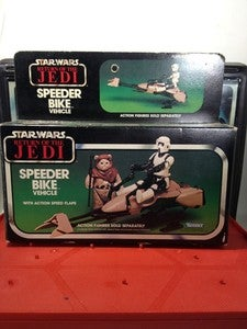 Image of Speeder Bike with Box and complete!