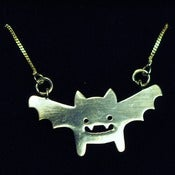 Image of Silver Batsu Necklace
