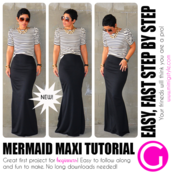 Image of Mermaid Maxi Tutorial