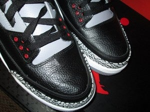 "Image of Air Jordan III (3) Retro ""Black Cements"" 2011 *SOLD OUT*"