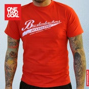 "Image of T-Shirt Bushwhackers Oldschool ""RED"""