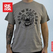 "Image of T-Shirt Bushwhackers Lion ""GRAU"""
