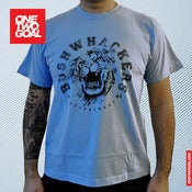 "Image of T-Shirt Bushwhackers Lion ""BLAU"