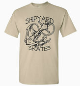 Image of Shipyard Skates &quot;Anchor&quot; T-shirt