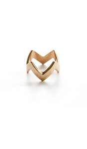 Zig Zag stacking ring