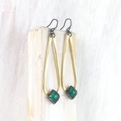 Image of bountiful teardrop earring