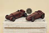 Image of Speed Racer Car - Vintage Style Toy - Red - TWO Styles
