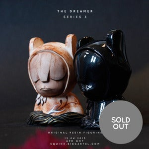 Image of The Dreamer - Series 3 - Original resin piece