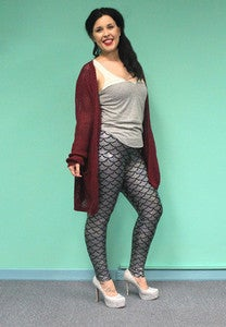 Image of DDG Diamond Mermaid Leggings