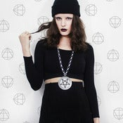 Image of Medusa PENTAGRAM on Big Chain