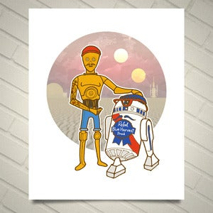 Image of HipSTAR WARS  The Droids