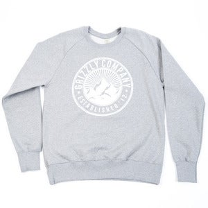 Image of Grizzly Co. - Trademark Sweatshirt - Ash
