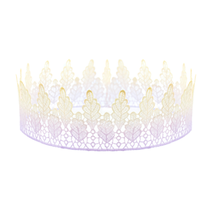 Image of Arwen. Purple Ombre Lace Crown