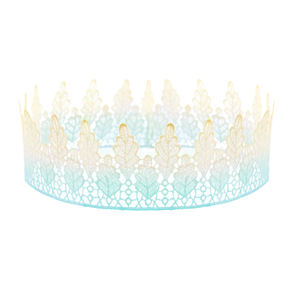 Image of Arwen. Turquoise Ombre Lace Crown