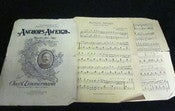 Image of **Free Shipping** Anchors Aweigh Naval Sheet Music ~1906 by C.A. Zimmermann~