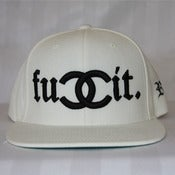 Image of FUCCIT (WHITE) SNAPBACK